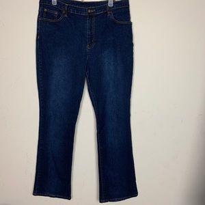 Diane Gilman- Dark Wash Wash Jeans s16